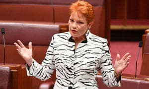 One Nation leader Pauline Hanson could control up to four seats in the upper house after Saturday's election.