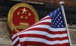 As US and Chinese officials are due to begin trade talks in Beijing on Monday, Donald Trump says China's economy is 'not doing well'.
