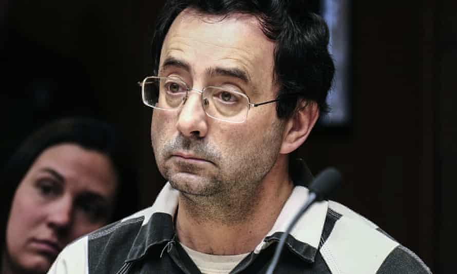 Nassar is being sued by more than 100 people over allegations of abuse