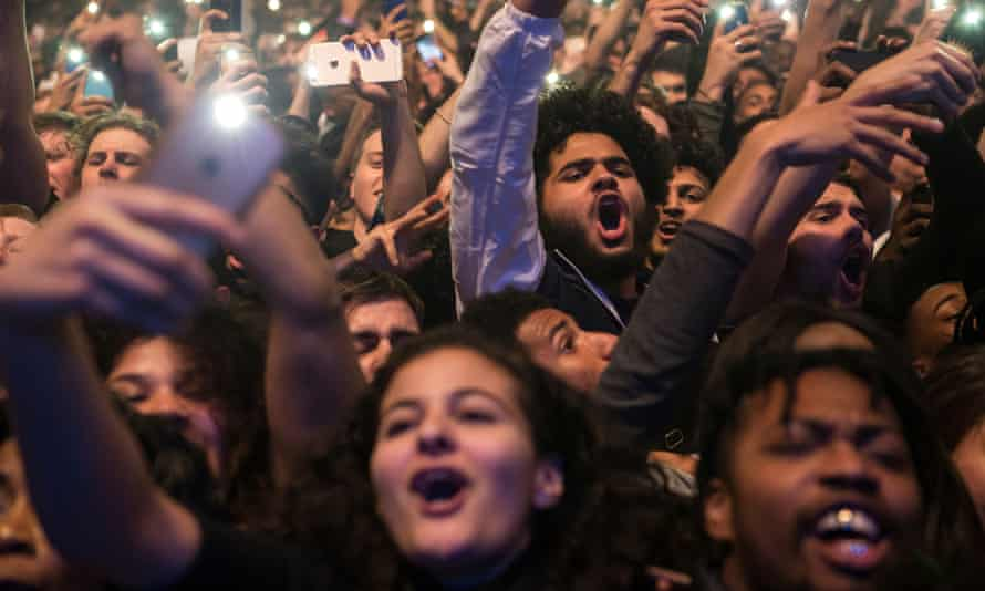 'Shaking the room': the crowd watching Migos at the Brixton Academy.