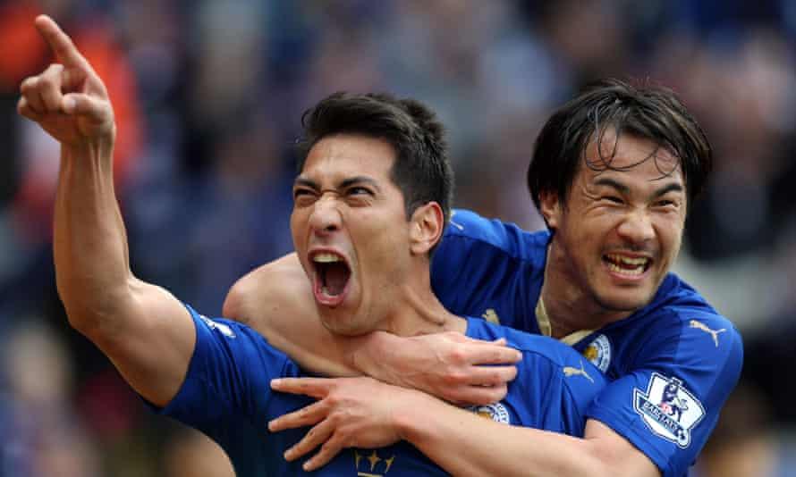 Leicester City's Leonardo Ulloa