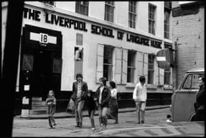 Paul and family. Liverpool, 1978