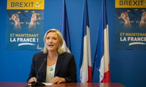 Marine Le Pen, leader of the Front National.