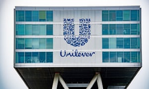 The Unilever office in Rotterdam