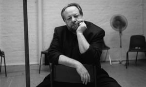Ricky Jay photographed at the Old Vic, London, in 1999.