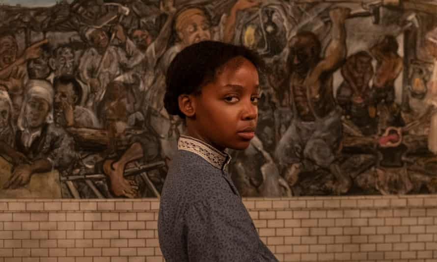 Virtuosic … Thuso Mbedu as Cora in The Underground Railroad.
