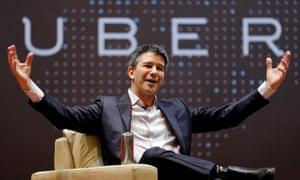 Uber CEO Kalanick uses his company's lactation room to meditate, according to Arianna Huffington, an Uber board member.