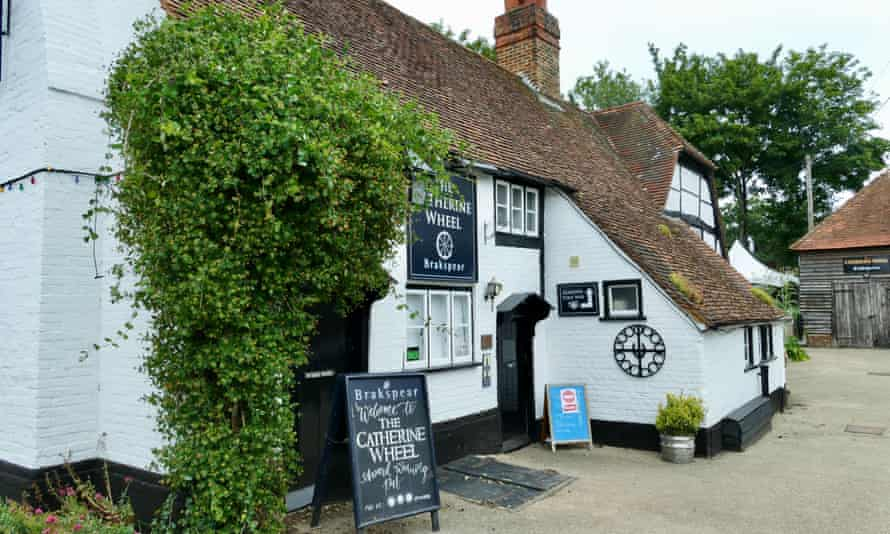 The Catherine wheel pub in Goring on Thames, Oxfordshire