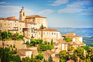 Medieval town Gordes in Provence, France
