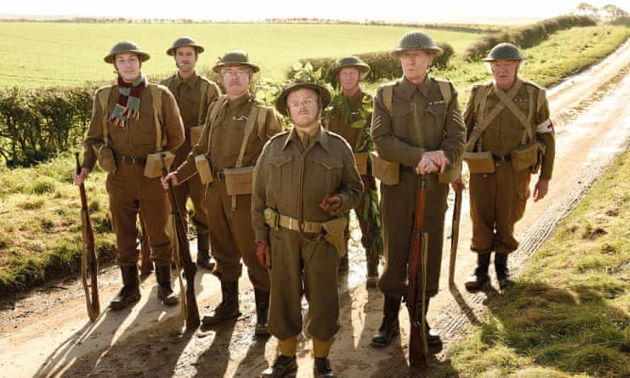 The cast of the new Dad's Army film.