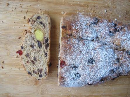 Doves Farm uses wheat, rye and einkorn flour.