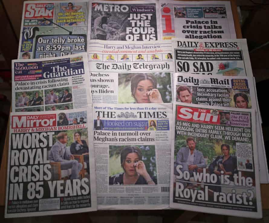 صفحات نخست روزنامه های انگلستان