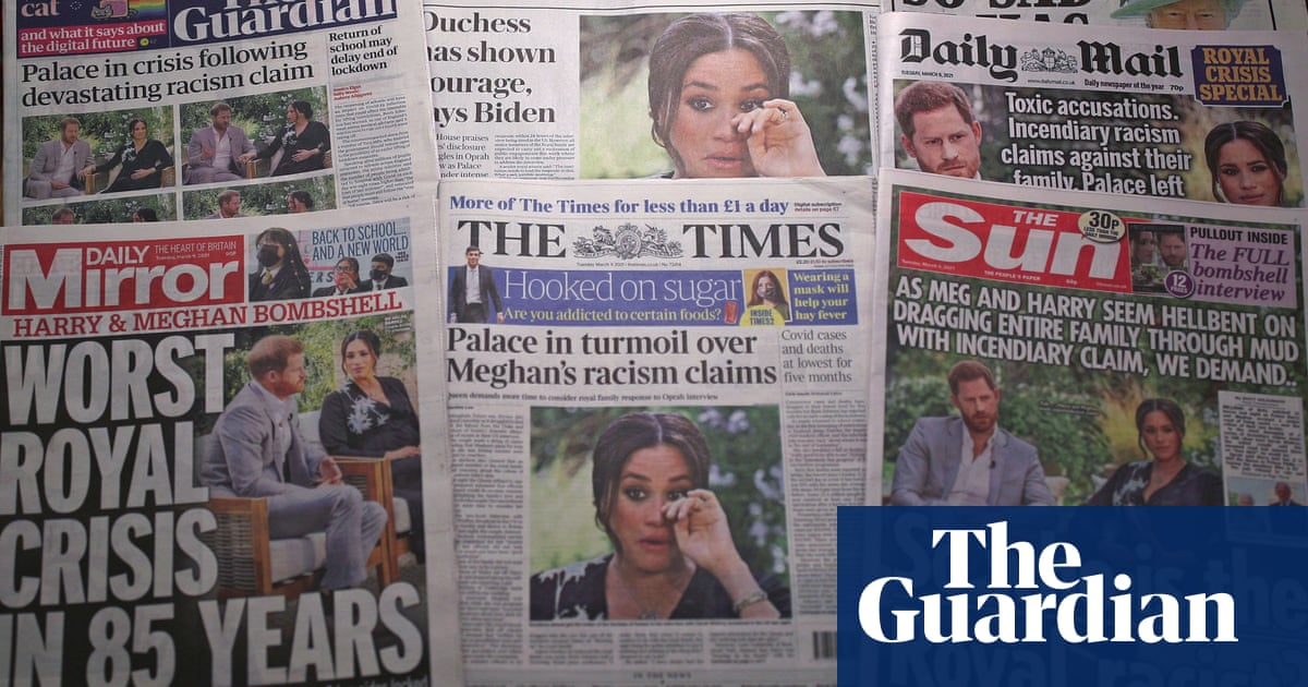 Society of Editors board member quits over Meghan racism statement