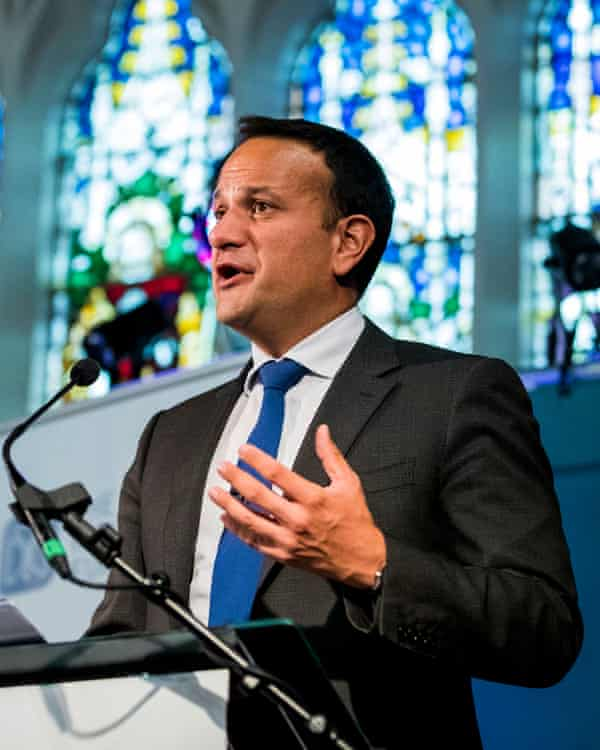 Leo Varadkar warned that no-deal would mark the start of a new set of negotiations between the UK and EU.
