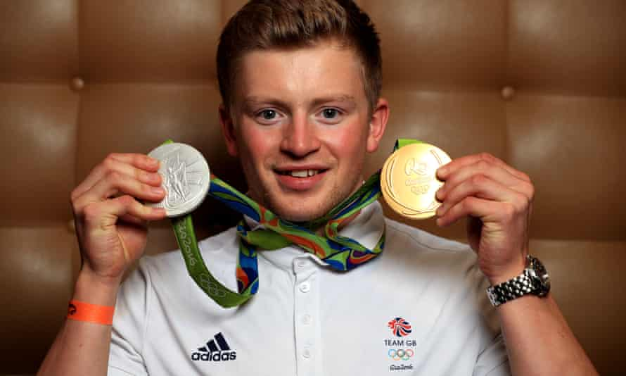 Adam Peaty after his Olympic success last August
