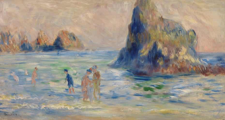 Renoir: Moulin Huet Bay, Guernsey