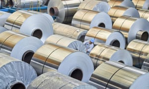 Australian aluminium exports to the US have grown sharply, bringing calls for higher tariffs.