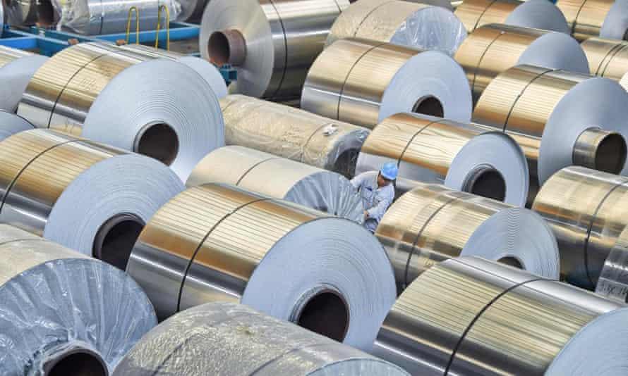 Australian aluminium exports to the US have grown sharply, bringing calls for higher tariffs.