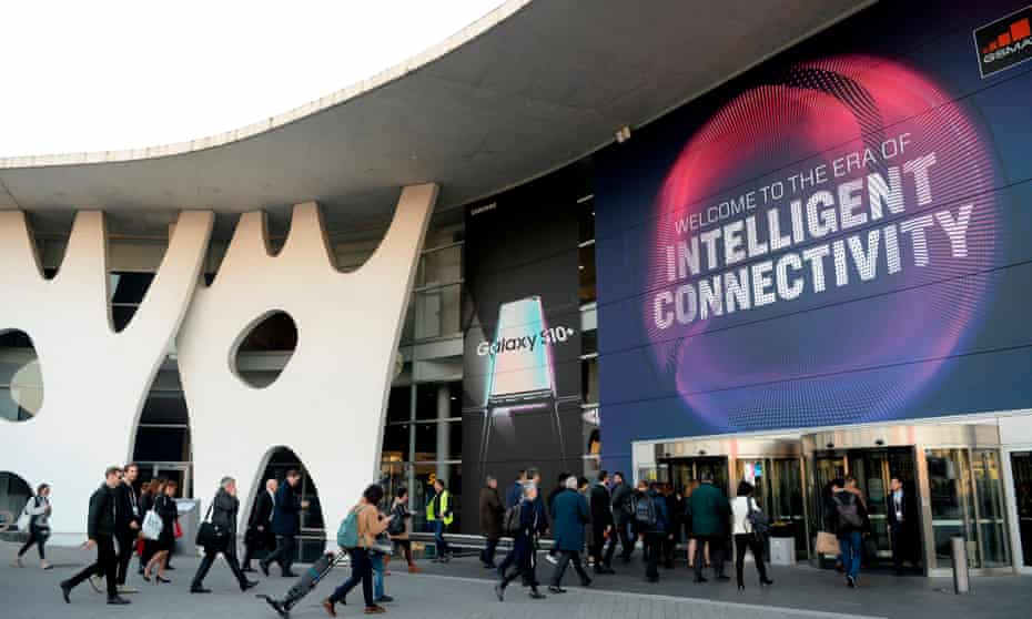 'At the Mobile World Congress in Barcelona, this year's theme was intelligent connectivity.'