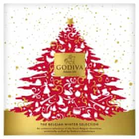 Godiva The Belgian Winter Selection Box, Ocado