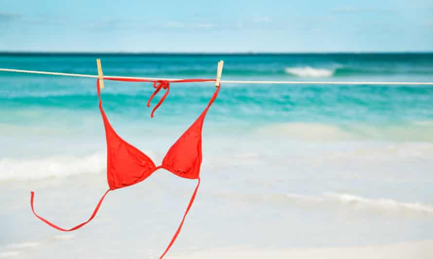 Upside down bikinis ... a form of sustainable consumerism?