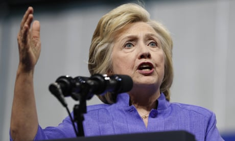hillary clinton email server wiped clean