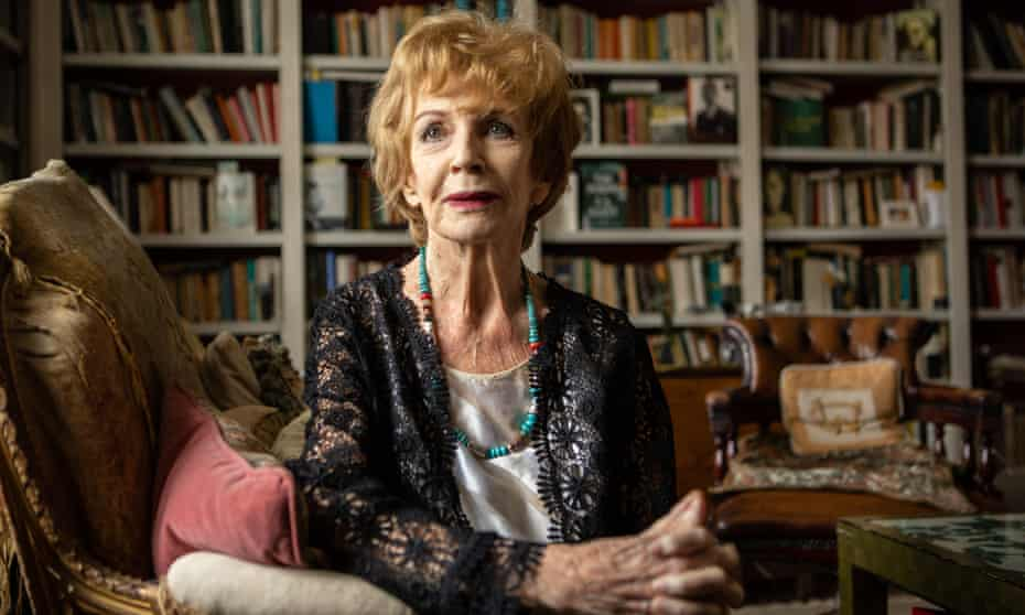 Edna O'Brien pictured in her Chelsea home last year.