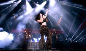 Lorde performs at Coachella, April 2016.