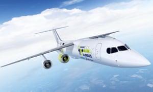 An electric plane