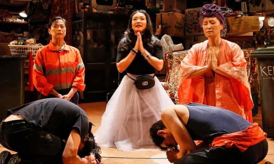The Melbourne Theatre Company's 2020 production of Benjamin Law's Torch the Place