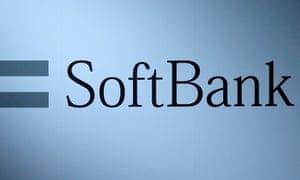 The logo of SoftBank Group.