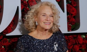 Carole King attends the 2016 Tony awards in June.