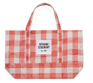 Opening Ceremony gingham tote, £29.09.