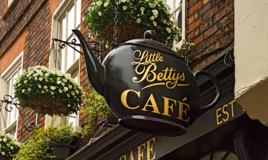 Little Bettys in York … 'It is my Tiffany'.