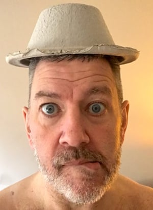 Simon Ricketts in hospital: 'Vomit bowls still make funny hats. Even now. Doesn't matter how many times you put one on your head, it is still a winner. That's a medical fact.'
