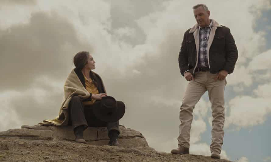 Diane Lane and Kevin Costner in Let Him Go. Viewers are in for a wild ride.