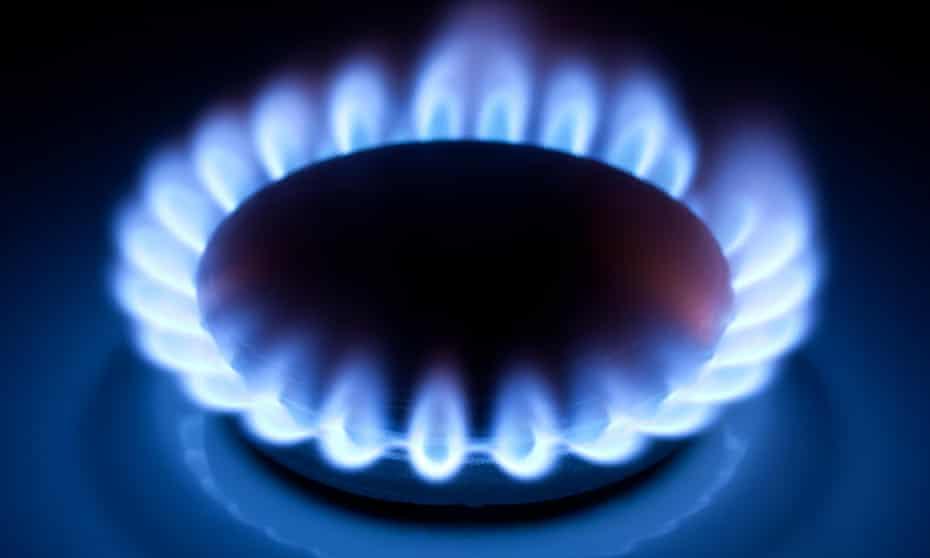 Flame closeup