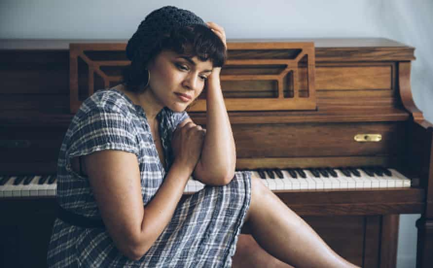 """Norah Jones poses for a portrait in Hudson, N.Y., to promote her latest album """"Pick Me Up Off the Floor."""""""