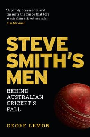 Steve Smith's Men by Geoff Lemon book cover