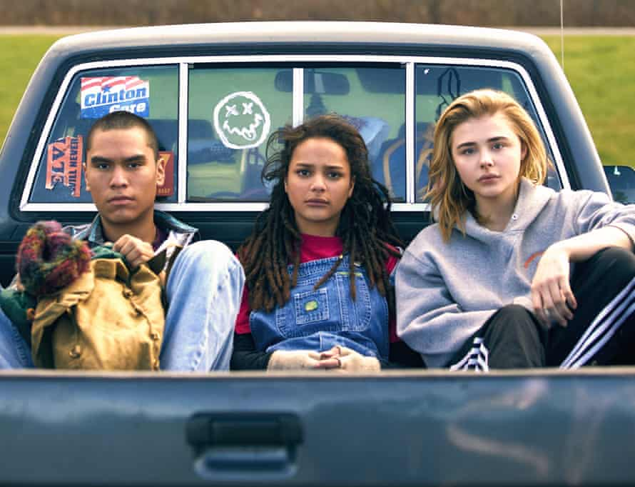 Forrest Goodluck, Sasha Lane and Chloë Grace Moretz in The Miseducation of Cameron Post