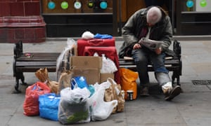 Scores of councils across England have handed out fines and convictions to homeless people who are begging on the streets.