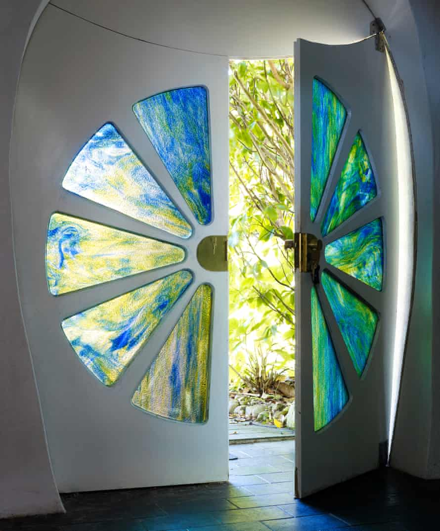 Making an entrance: the front door sets the design template for the rest of the house.