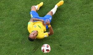 Neymar, earlier.