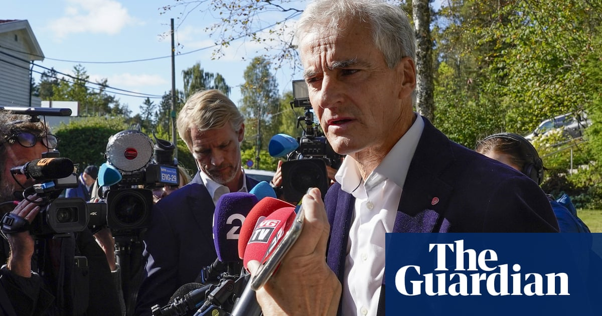 Norway's left-leaning parties begin talks to form a government
