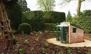 Little brick pavilion toilet