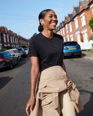 The fashion director of Grazia UK, Kenya Hunt.