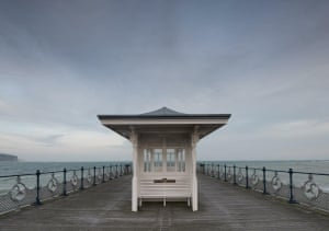 The new pier at Swanage in Dorset.