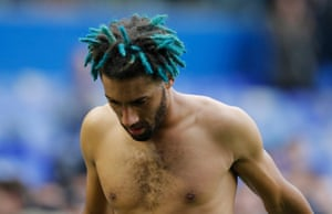 Ryan Shotton and his blue highlights walk off the field at full-time