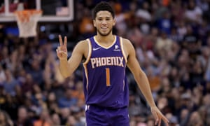Devin Booker and the Suns are holding their own in the tough Western Conference