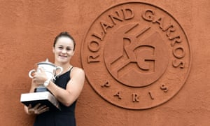 Ashleigh Barty's uncomplicated realism helped her win her breakthrough major.